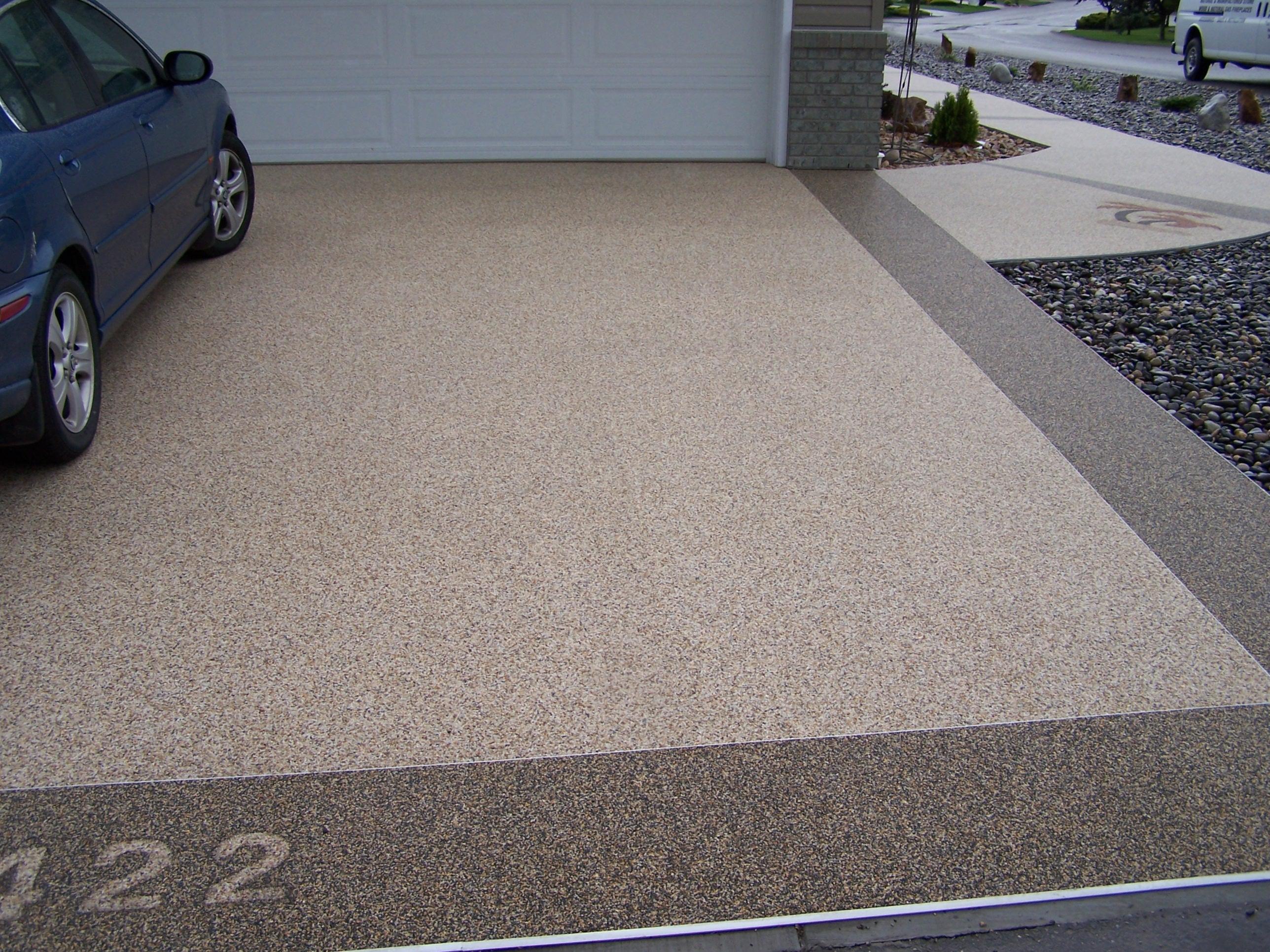 Concrete driveways for Temperature to pour concrete driveway